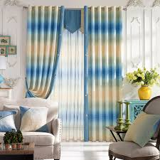 Patterned Blackout Curtains Modern Printing Patterned Blackout Curtains For Living Room