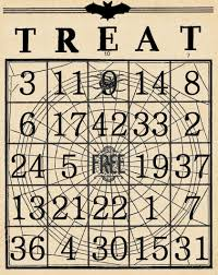 printable halloween express coupons artistic hen free halloween bingo cards to download part 3