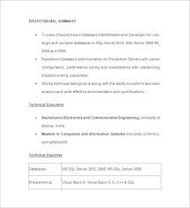 Oracle Dba Resume Sample by Senior Oracle Dba Resume Examples Download Oracle Dba Resume