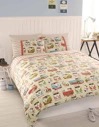campervans duvet set multi free uk delivery terrys fabrics
