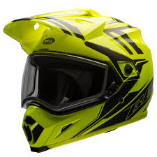 bell motocross helmet bell mx 9 adventure barricade snow helmet with electric shield