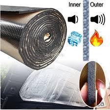 nissan titan heat shield rattle heat shield mat car turbo exhaust muffler insulation hood