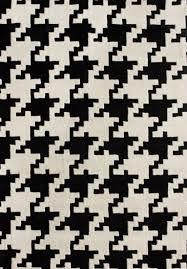 garnet hill houndstooth wool rug look 4 less