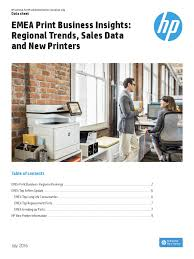 emea print business insights fy16 q2 printer computing