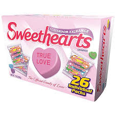sweetheart candy sweethearts classroom exchange conversational candies