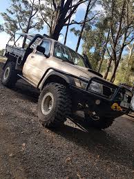 2000 nissan patrol st gu ute coil cab by russmuss http www
