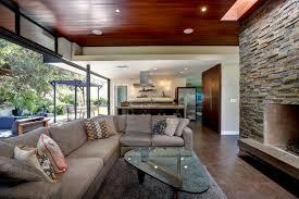 modern ranch style home caroline dooley architects