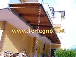 tettoie e pergolati in legno metal legno