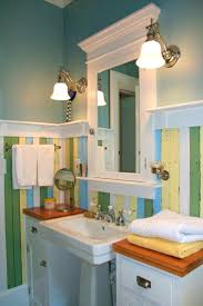 apartments pleasant bathroom design ideas pedestal sink mosaic