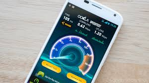 mobile speed test android speedtest net app updated with new interface maps feature