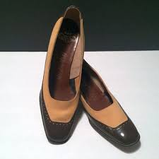 shop vintage spectator shoes on wanelo