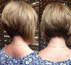 how to cut hair in a stacked bob popular stacked bob haircut pictures short hairstyles 2016