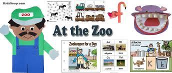 zoo and animals preschool activities and printables kidssoup
