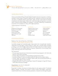 Resume Examples For Graphic Designers by Art Director Resumes Gemare Falzarano Resume Graphic Design