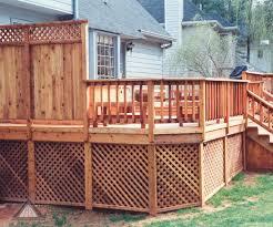 home design privacy deck railing ideas building designers home