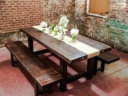 splendid farm table made of reclaimed pine barn wood with cabriole