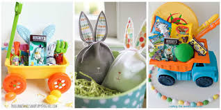 easter basket boy 30 easter basket ideas for kids best easter gifts for babies