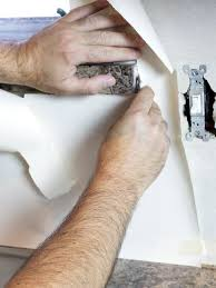 Diy Flesh Light Make A Renter Friendly Removable Diy Kitchen Backsplash Hgtv