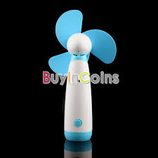 battery operated handheld fan portable handheld mini fan mute battery operated for cooling