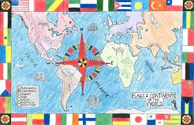 Countries Of The World Flags International Countries U0026 Flags Osher Map Library