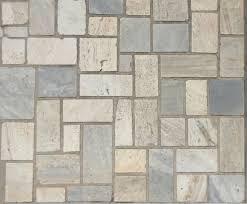 texture irregular tiles various colors modern pavement