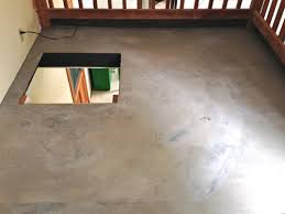 diy concrete floor this bargain version is so easy to create