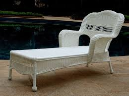 Lounge Patio Chair White Outdoor Lounge Chair Pertaining To Your House Chaise Rattan