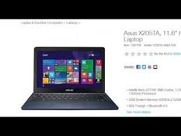 laptops on sale black friday asus x205ta bing fd0 laptop on black friday sale for 99 at