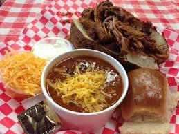 Backyard Bbq Las Vegas Man Up Tales Of Texas Bbq Pork Potato At Big Ern U0027s Bbq Las