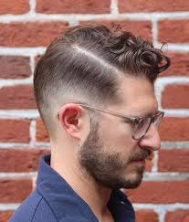 haircuts curly hair men comb over haircuts
