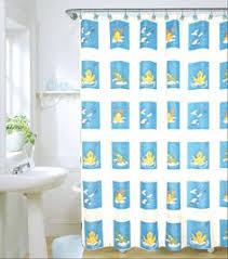 Duck Shower Curtains Duck Shower Curtains Fabric Like Rubber Ducky Rainy Duck Shower
