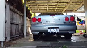 nissan skyline r34 custom nissan r34 skyline 25gtv custom 3 u0027 u0027 exhaust sound youtube