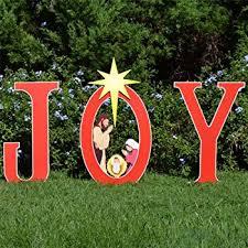 teak isle nativity printed yard sign outdoor