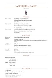 Office Boy Resume Format Sample by Kitchen Helper Resume Samples Visualcv Resume Samples Database