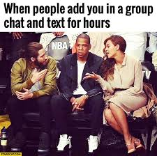 Group Text Meme - 5 replies to prove to the group chat you re keeping up das tor