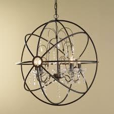 Crystal Sphere Chandelier Chandelier Inspiring Home Depot Chandelier Design Ideas