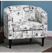 Grey And White Accent Chair 25 Ide Terbaik Tentang Red Accent Chair Di Pinterest Within Red In