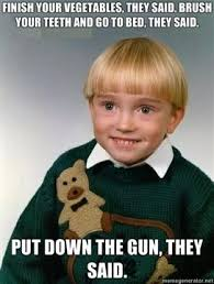 Blonde Meme - i miss this kid adviceanimals