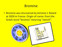 Bromine Periodic Table Periodic Table Web Elements Ppt Download