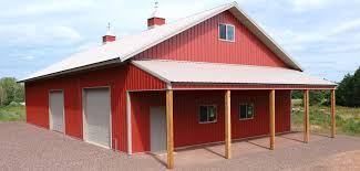 How To Build A Lean To On A Pole Barn Home Building Quality Pole Barns Pole Buildings And Storage