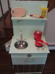 homemade play kitchen ideas diy play kitchen from night stand