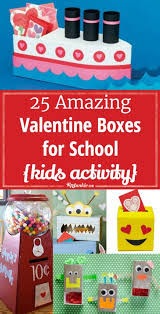 school valentines 25 amazing boxes for school kids activity tip junkie