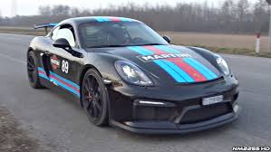 porsche with christmas tree one of the best sounding exhausts for the porsche cayman gt4