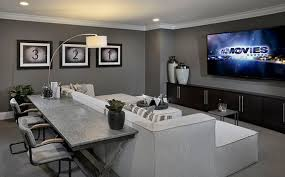 Media Room Seating - turn the upstairs bonus room into your own private media room