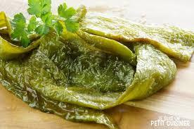 cuisiner des poivrons verts recette de poivrons verts frits