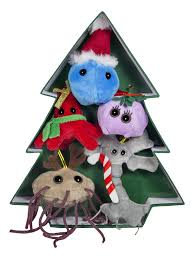 amazon com giant microbes christmas tree ornaments toys u0026 games