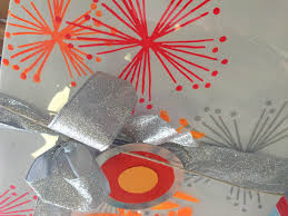 Australian Christmas Making Christmas Decorations And Wrapping Paper With Permaset Inks