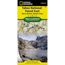 Baxter State Park Map by 268 Lassen Volcanic National Park Trail Map National Geographic