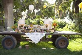Rustic Backyard Wedding Ideas Green And Yellow Rustic Wedding Ruffled