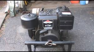 cold start homelite 4400 watt generator with 1991 8 0 hp briggs